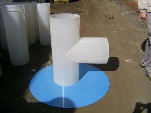 Элементы пластиковой вентиляции для септиков