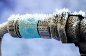 Замерзла вода в канализационных трубах