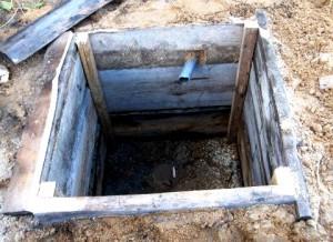 Сливная яма для бани: схема, кладка, как сделать дно своими руками