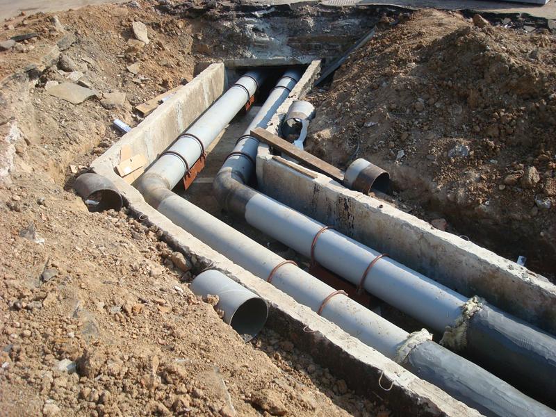 Минимальная глубина заложения напорного трубопровода