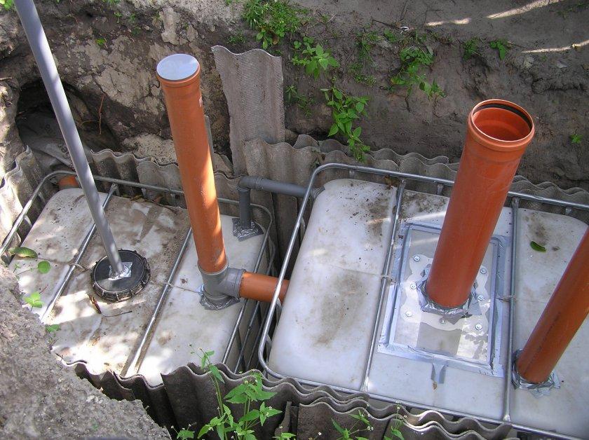 Обустройство канализации своими руками