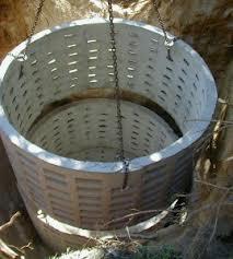 Перфорированные бетонные кольца
