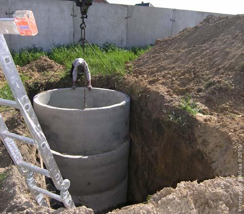 Устройство бетонных колец