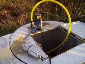 Гидромонитор с двумя насосами