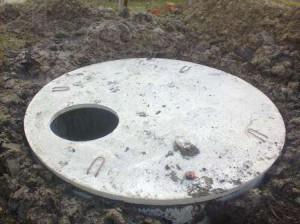 Перекрытия для ямы из жб колец