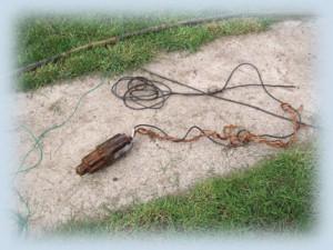 Подъем насоса при провисшем кабеле