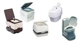 Различные модели биотуалетов