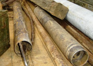 Трубы из скважины
