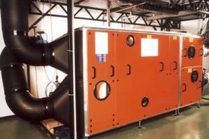 Климатический комплекс для автоматической обработки