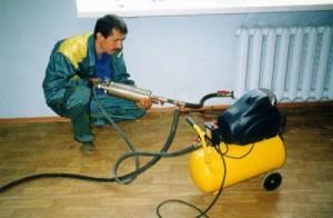 Процесс гидропневматической промывки