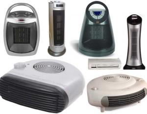 Разновидности тепловентиляторов
