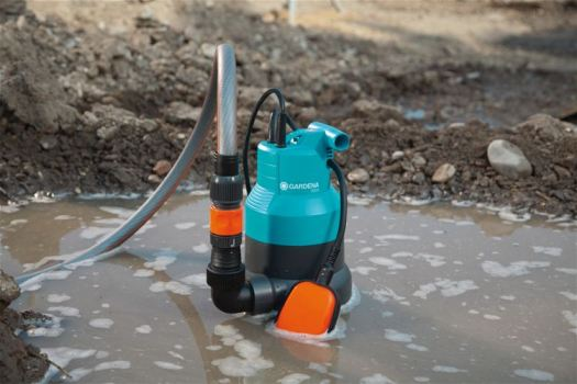 Дренажный насос для откачки грязной воды