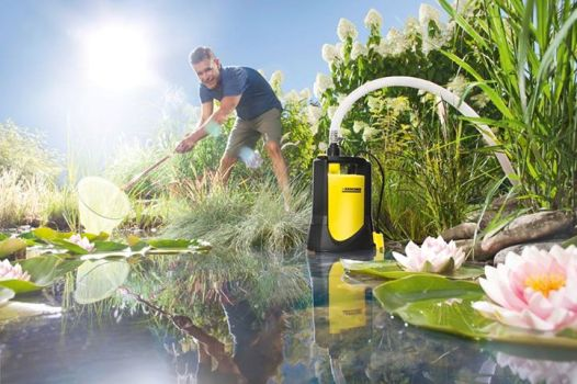 Дренажный насос Karсher для грязной воды