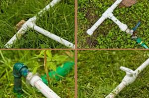 Монтаж летнего водопровода для дачи