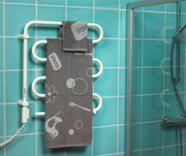 Перенос электрического полотенцесушителя