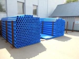 Пластиковые обсадные трубы для скважин на воду