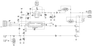 Схема датчика контроля протечки воды