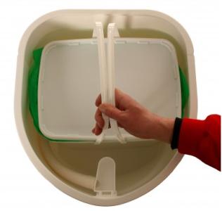 Конструкция туалета Separett Weekend 7011