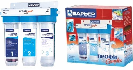 Фильтр для воды Барьер Expert Complex