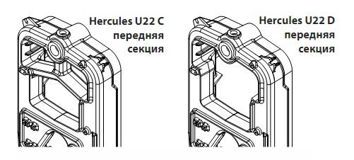 Конструкция котла VIADRUS U 22 C