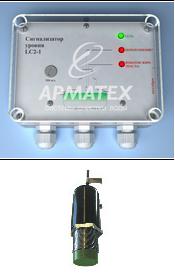Сигнализаторы уровня жировой пленки LC2-1